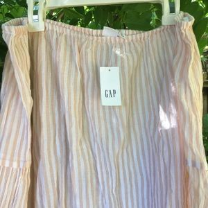 GAP off the shoulder summer blouse
